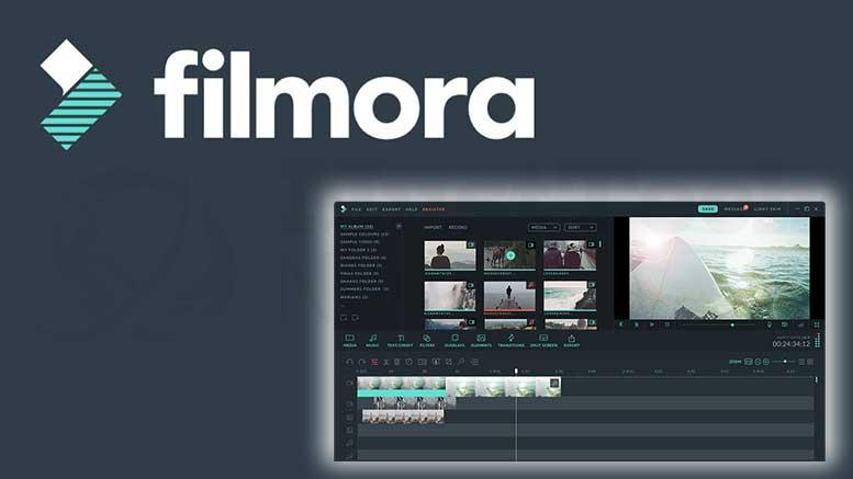 برنامج FILMORA
